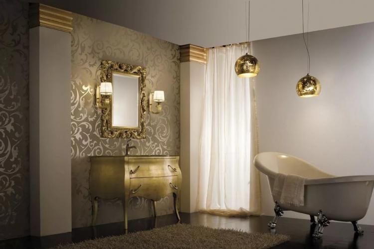 Ванная комната в стиле арт-деко - Дизайн интерьера 2019