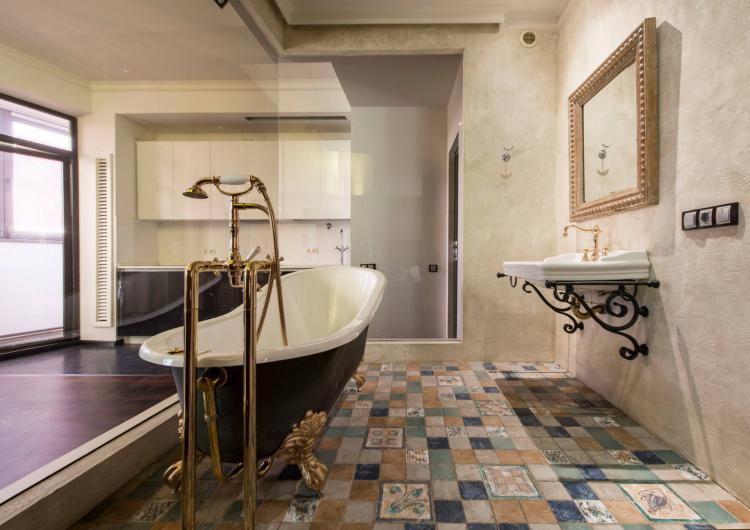 Ванная комната в итальянском стиле - Дизайн интерьера 2019