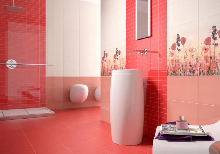 Отделка стен - Дизайн ванной комнаты 2019