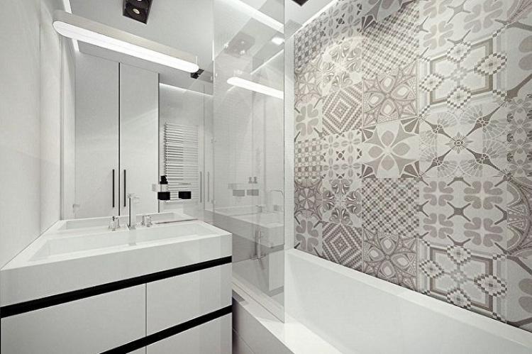 Светлые цвета - Дизайн ванной комнаты 3 кв.м.