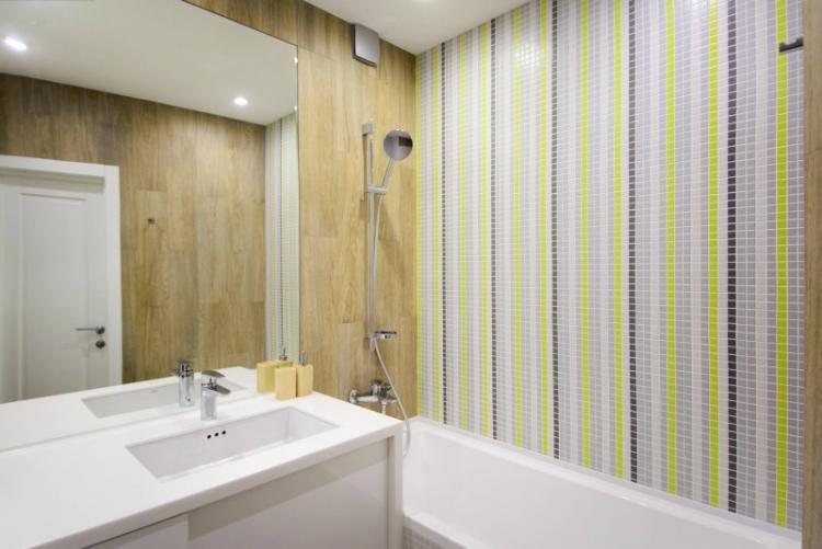 Как визуально увеличить ванную комнату 3 кв.м.
