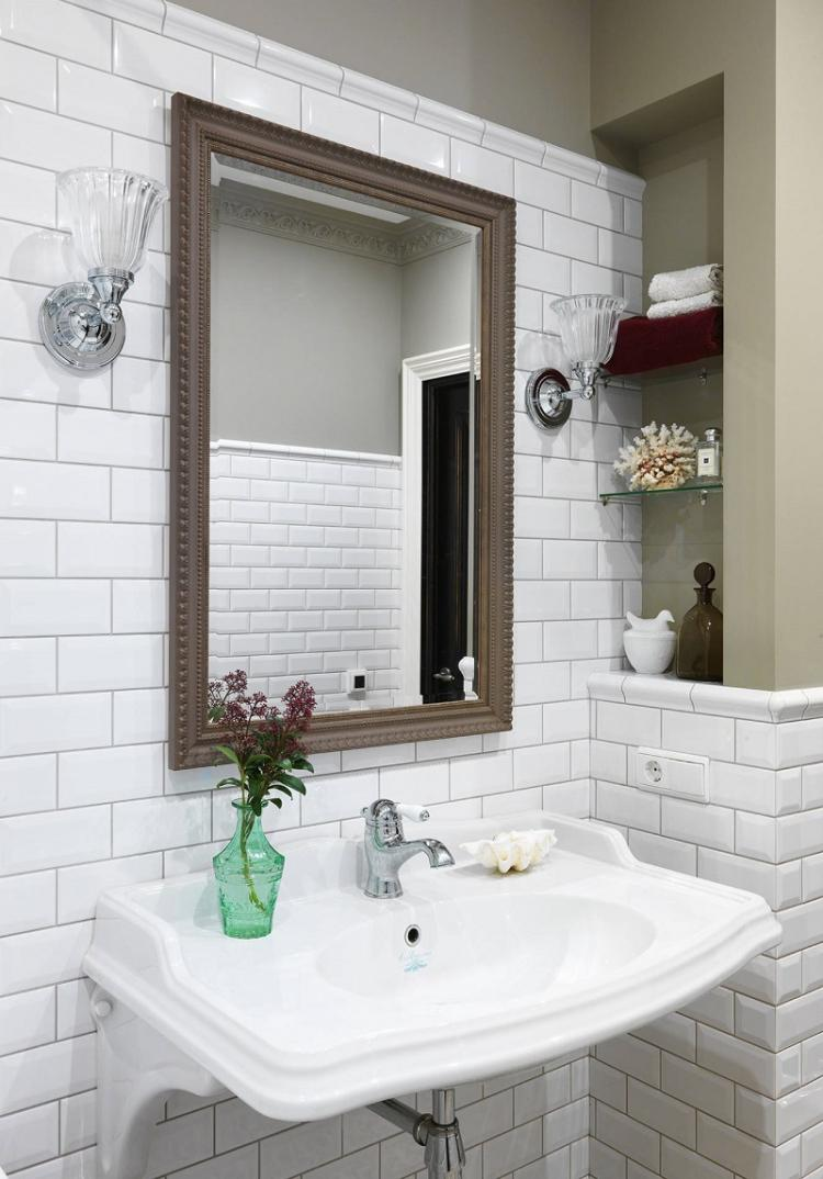 Предметы-«невидимки» - Дизайн ванной комнаты 3 кв.м.