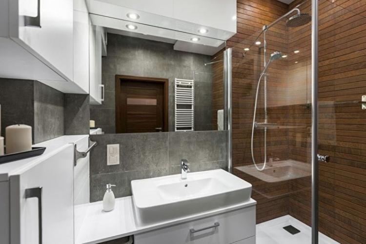 Декор - Дизайн ванной комнаты 3 кв.м.
