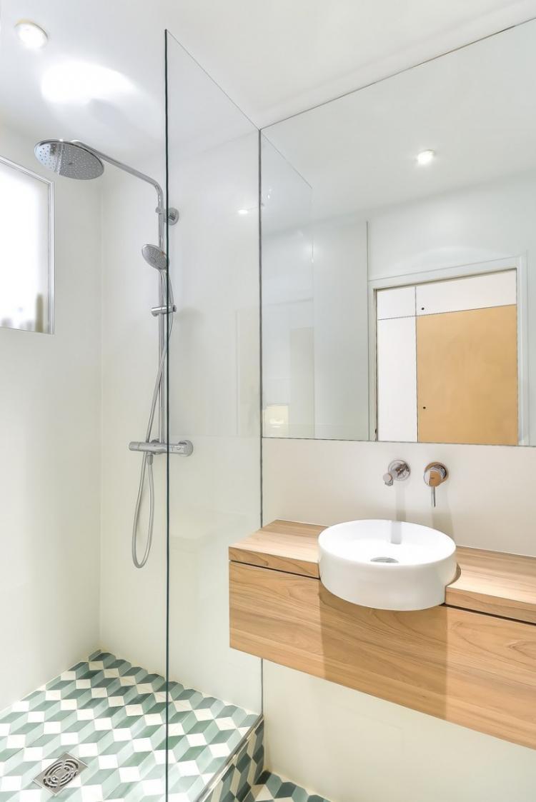 Дизайн интерьера ванной комнаты 3 кв.м. - фото реальных интерьеров