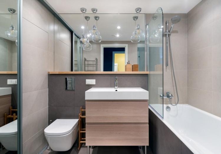 80 идей дизайна ванной комнаты 4 кв.м. (фото)
