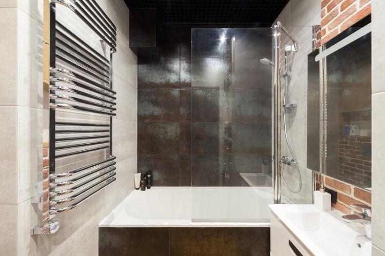 Стиль интерьера - Дизайн ванной комнаты 4 кв.м.