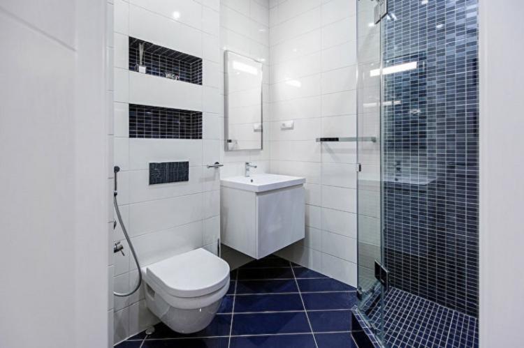 Как визуально увеличить ванную - Дизайн ванной комнаты 4 кв.м.