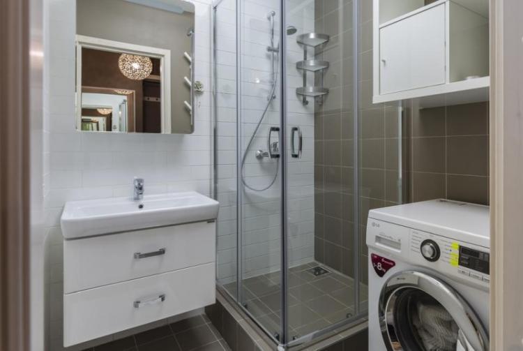 Душевая кабина - Дизайн ванной с душевой кабиной