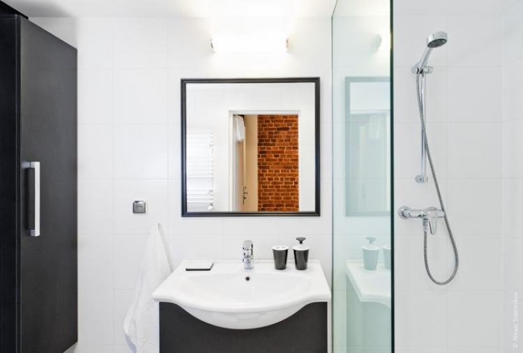 Освещение и подсветка - Дизайн ванной с душевой кабиной