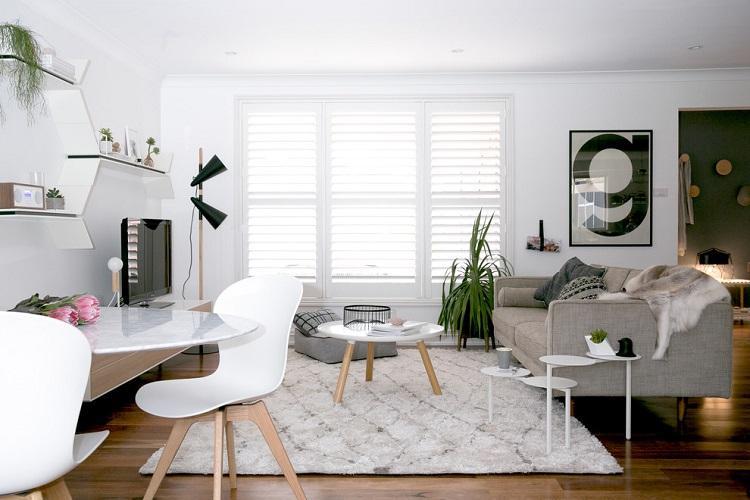 Зал в скандинавском стиле - Дизайн интерьера