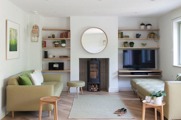 Отделка пола - Дизайн зала в квартире