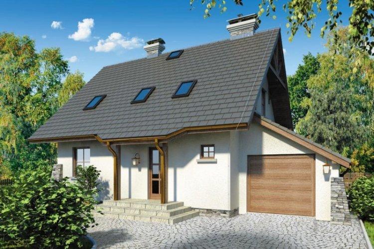 Крыша - Дом с мансардой