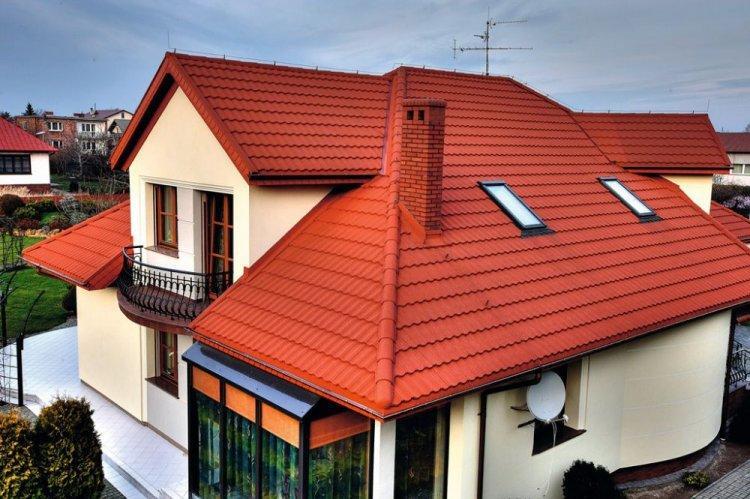 Крыша дома в скандинавском стиле