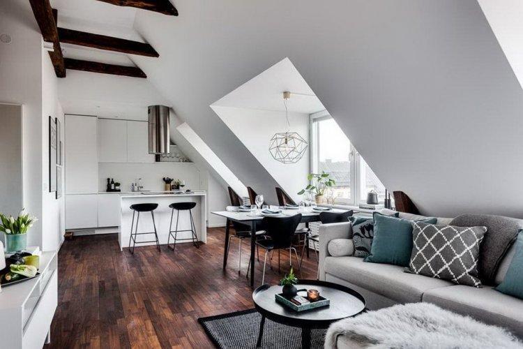 Варианты планировки - Дом в скандинавском стиле