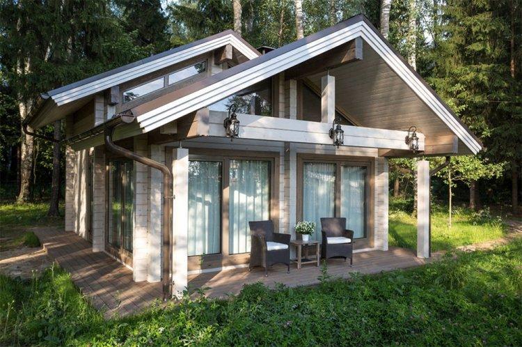 Дом в скандинавском стиле из дерева - проекты и фото