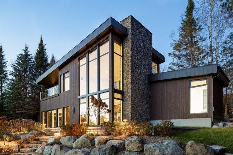 Дом в скандинавском стиле из кирпича - проекты и фото