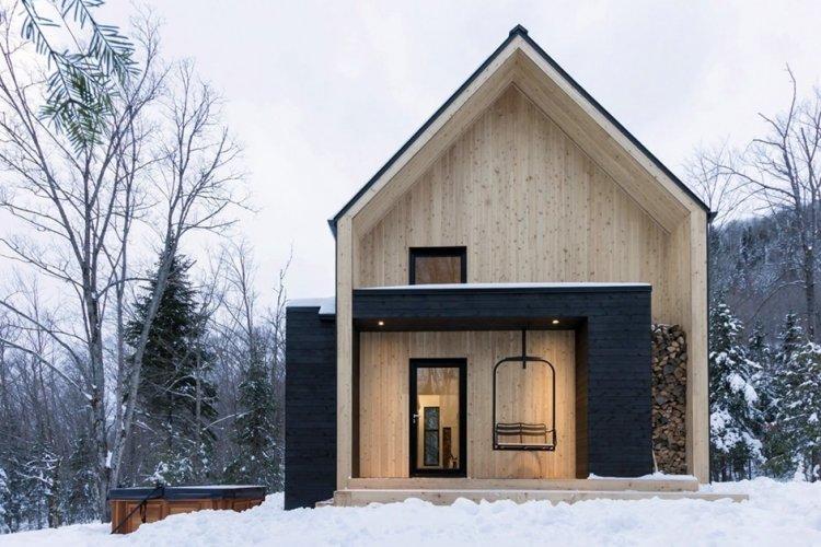 Дом в скандинавском стиле с мансардой - проекты и фото