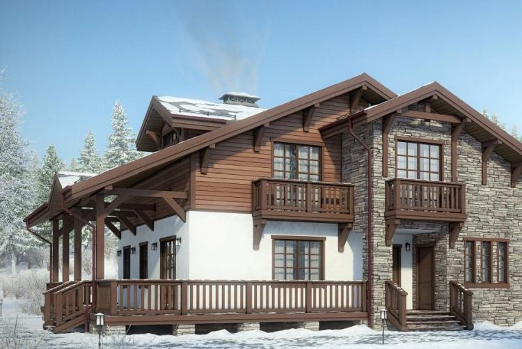 Материалы для строительства - Дома в стиле шале