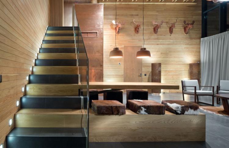 Дома в стиле шале с подвалом - Проекты