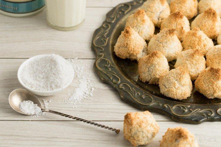 Кокосовое печенье - домашнее печенье простые и вкусные рецепты