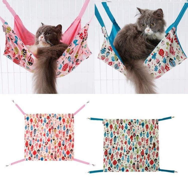 Шьем гамак - Домик для кошки своими руками