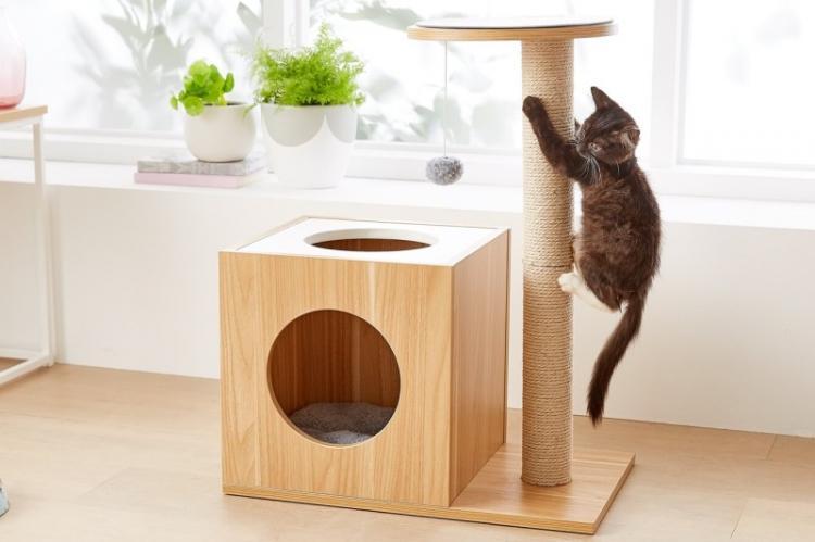 Мастерим домик из фанеры - Домик для кошки своими руками