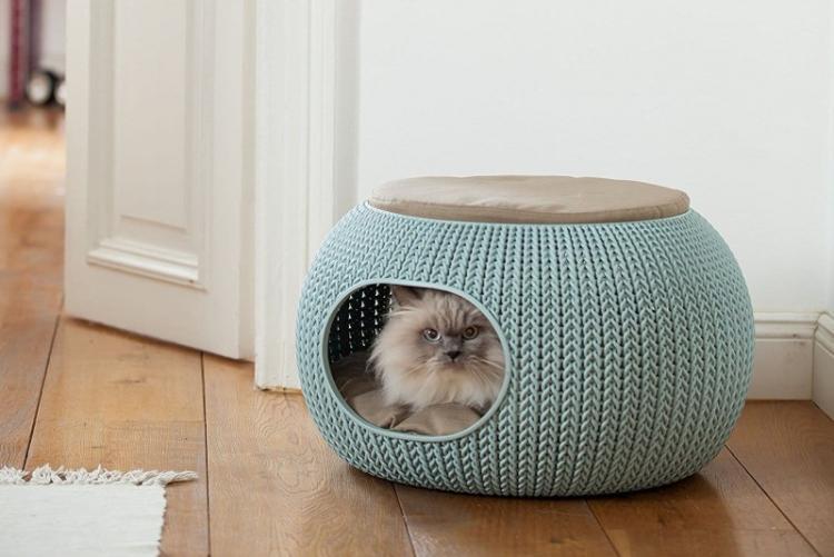 Домик для кошки своими руками - фото и идеи