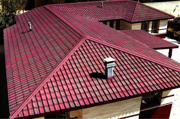 Крыша для двухэтажного дома