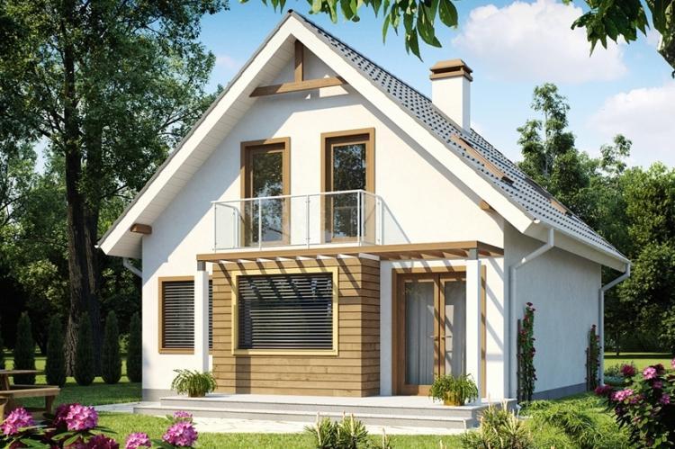Двухэтажные дома с мансардой - проекты и фото
