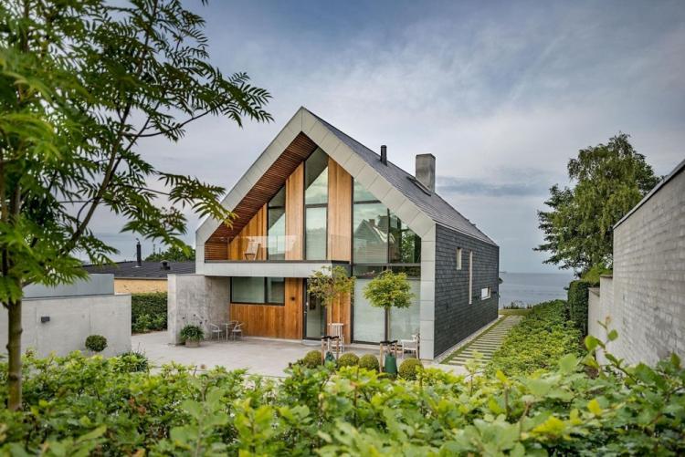 двухэтажный дом с огородом проекты фото