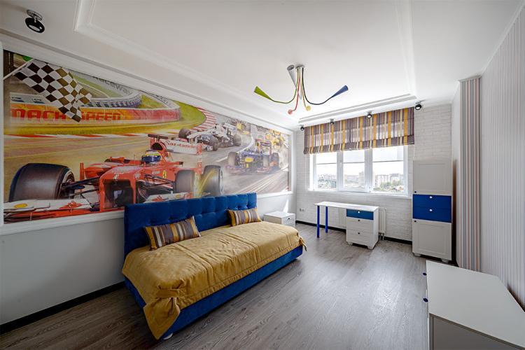 Двухуровневая квартира, ул. Марфинская