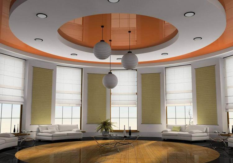Отличия двухуровневой конструкции - Двухуровневые натяжные потолки