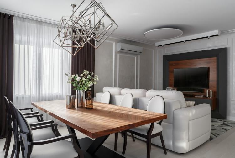 Edges of style: Интерьер квартиры 170 кв.м.