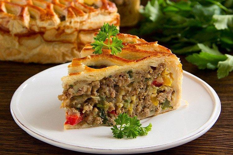 Пирог с мясом «Пастуший»