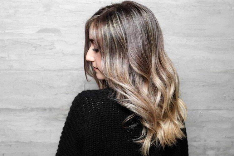 Балаяж на русые волосы: 50 идей стильного окрашивания (фото)