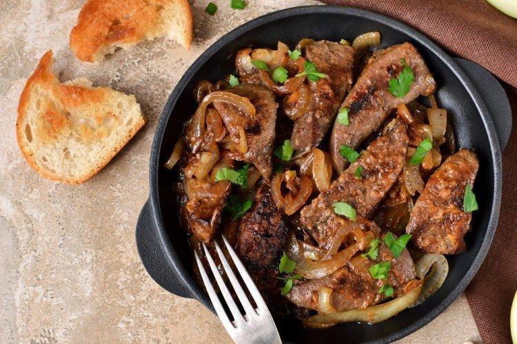 Как приготовить свиную печень: 20 рецептов вкусных блюд