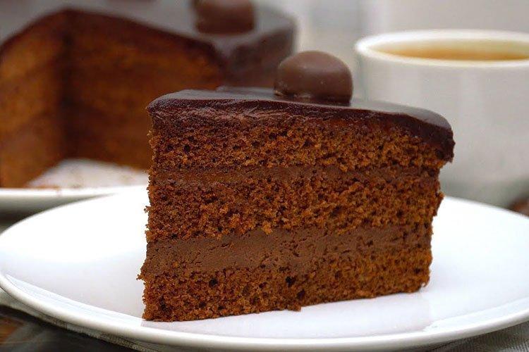 Постный торт «Трюфельный»