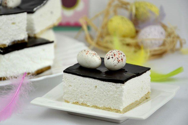 Постный торт «Птичье молоко»