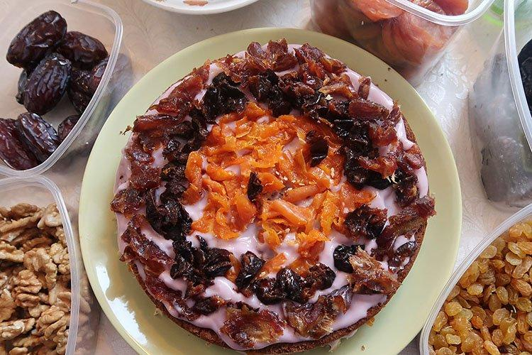 Торт «В пост» без муки и яиц