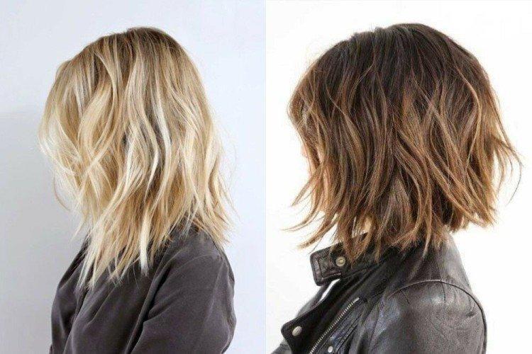 Укладка шегги для прямых волос