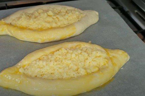Хачапури по-аджарски в духовке