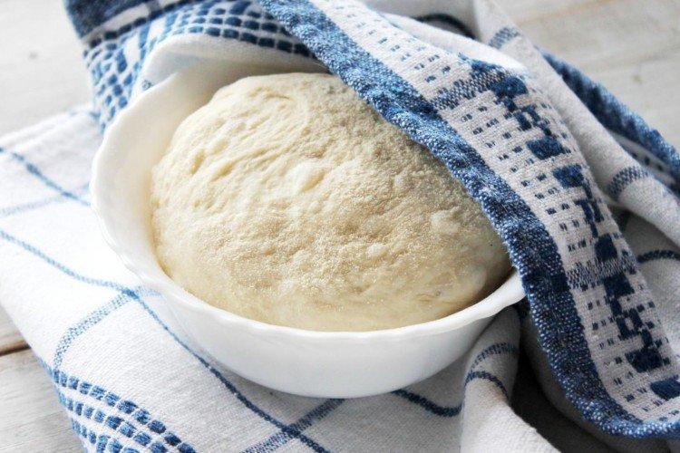 Тесто для беляшей на сухих дрожжах