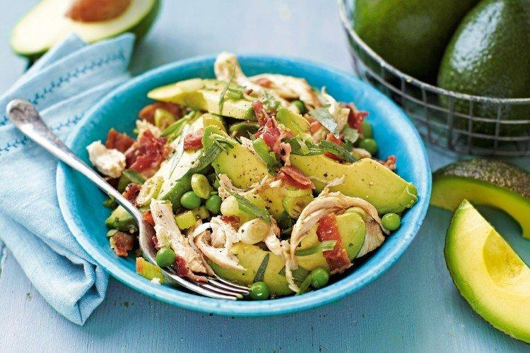 20 ярких и легких салатов с авокадо