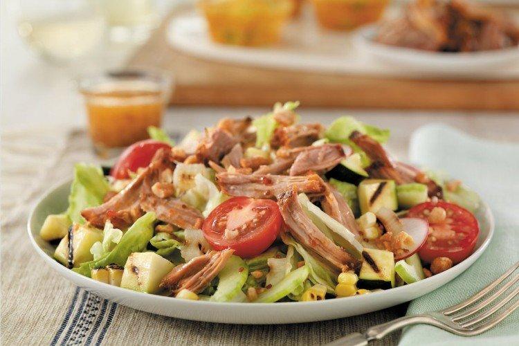 20 быстрых и простых салатов со свининой