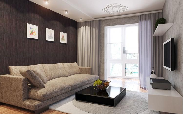 Освещение - Дизайн гостиной в хрущевке