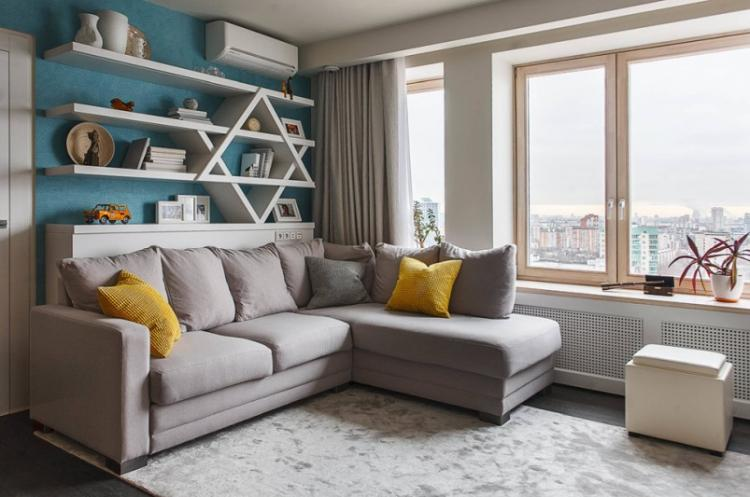 Выбор мягкого уголка - Дизайн гостиной в хрущевке