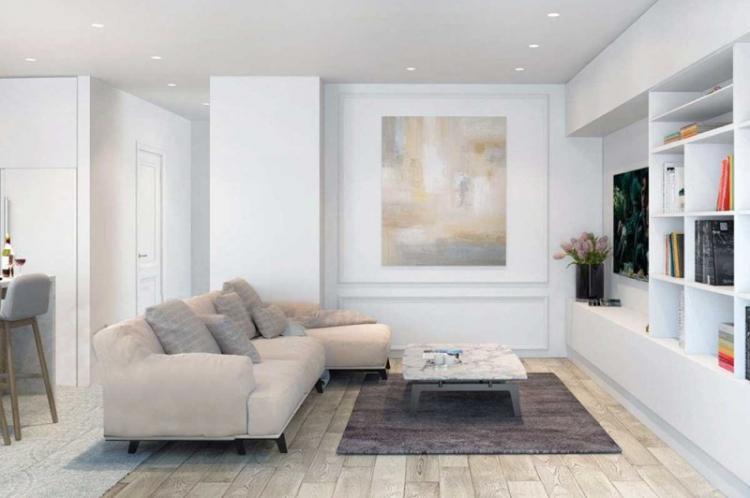 Дизайн интерьера гостиной в хрущевке - фото реальных интерьеров