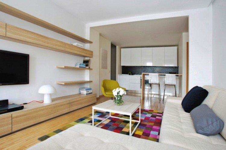 Особенности - Интерьер гостиной в современном стиле