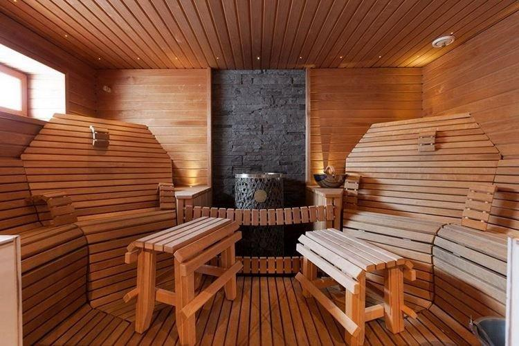 Основные особенности - Интерьер бани и сауны