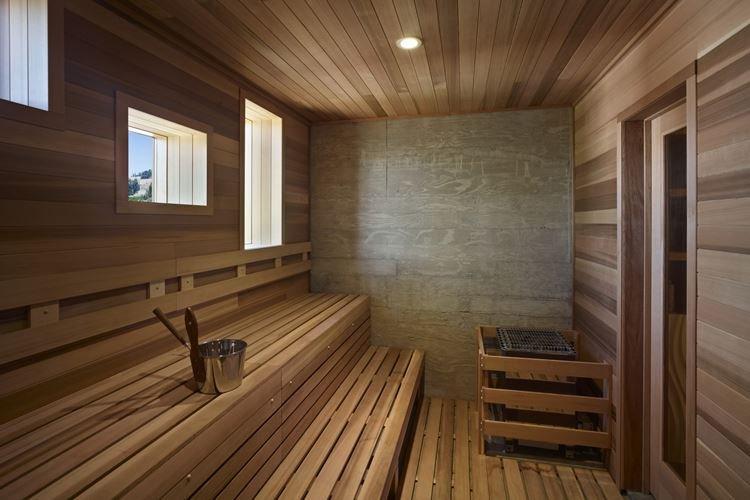 Интерьер бани и сауны - фото